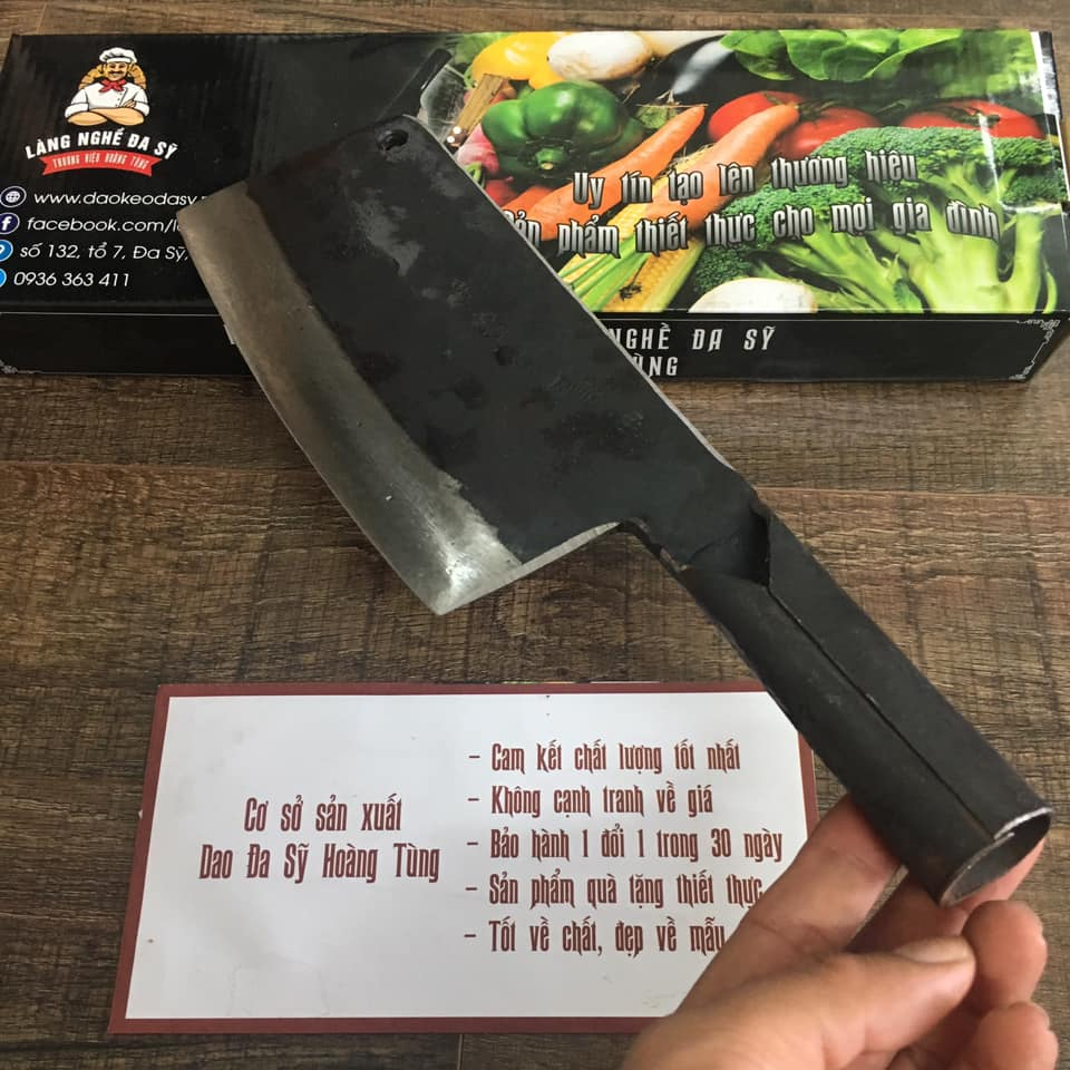 dao chặt chuôi liền